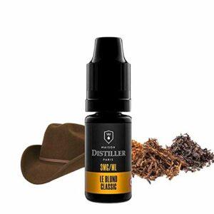 Le Blond Classic – Maison Distiller – Sans tabac ni nicotine – Vente interdite aux personnes âgées au de moins de 18 ans – 0 MG – Genre : 10 ml