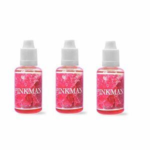 Lot de 3 flacons de PINKMAN 30ML Concentré Vampire Vape – Sans nicotine ni tabac