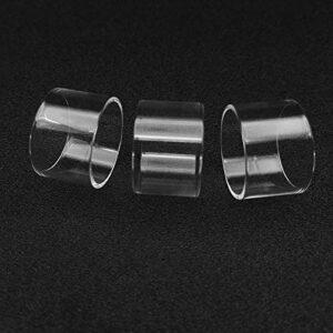 Pang-qingtian 5pcs Remplacement Clear Pyrex Glasse Tube DISTIE pour EHPRO BLOWOW V3 RTA V3 Plus (Couleur : Fit for Billow v3 Plus Glass)