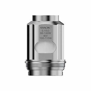S-mok 3 pièces TFV18 Coil double bobine de maille 0.15ohm noyau de cigarette électronique pour Kit TFV18 Tank Morph 2, sans nicotine
