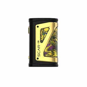 SMOK Scar 18 Box Mod 230W Batterie de Cigarette électronique – Sans Nicotine ni Tabac (Fluide Or)