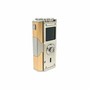 SXmini T Class Box Mod pour cigarette électronique avec écran couleur, contrôle joystick, culot 510 spinner, puissance maximale 200 W Capitan Golden