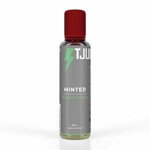T Juice | Minted | Arôme Shortfill 50ml pour E Cigarettes Vape | Sans Nicotine (L'emballage Peut Varier)
