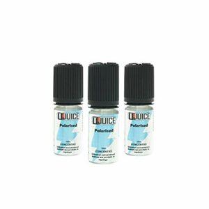 T Juice | Polarised | Arôme 10ml Concentré pour E Cigarettes Vape | Sans Nicotine | Lot de 3 (L'emballage Peut Varier)