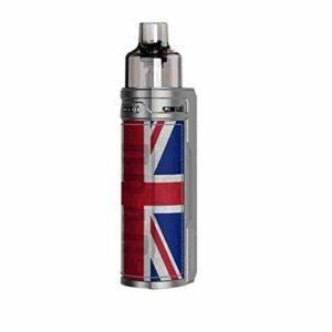 VOOPOO DRAG S Kit Pod System Box Mod Vape Kit with PnP coils 4.5ml cartridge 2500mAh battery 60W Electronic Cigarette Vaporizer Sliver Knight