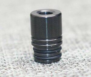 1pc 510 embout d'égouttement en acier inoxydable à goutte d'acier inoxydable poignées à goutte à gouttes d'insertion correspondant à 510 filetage RTA RDTA en tant que réservoir de bébé TFV8