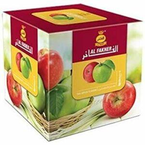 AL-Fakher Two Apple Saveur Premium 1 kg pour chicha Hukka Hookha Charbon gratuit