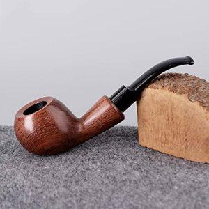 BILXXY Pipe à Fumer du Tabac, Pipe à Fumer en Bois à la Main, kit de Pipe Parfait pour débutant pour Tous Les Amateurs de Tabac, Femmes, Hommes