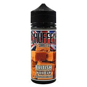 CHUFFED SHAKES – British Fudge 100ml Sweets by Chuffed