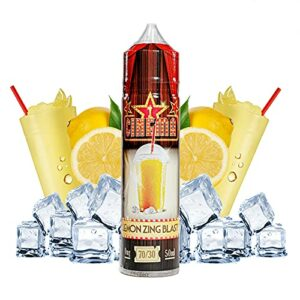 Cinema Range – Lemon Zing Blast – Eco Vape E-Liquid | 50ML | Sans Nicotine NI TABAC | 70VG/30PG | E-Liquide pour Cigarettes Electroniques | E Vaper Liquids | E Cigarette | E Shisha
