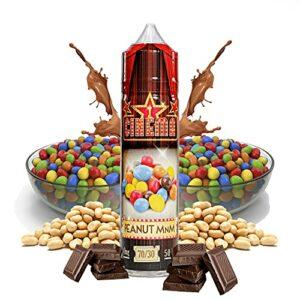 Cinema Range – Peanut Chocolate – Eco Vape E-Liquid | 50ML | Sans Nicotine NI TABAC | 70VG/30PG | E-Liquide pour Cigarettes Electroniques | E Vaper Liquids | E Cigarette | E Shisha
