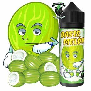 E-Liquid OASIS MELON PAR ElecVap – Sans Nicotine NI TABAC- Format TPD 120ml – 0MG Nicotine – E-Liquide pour Cigarettes Electroniques – E Vape Liquids vapoteuse