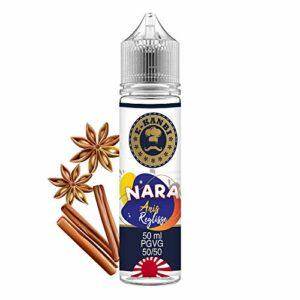 E-Liquide 50 ml E-Kanbi NARA Anis Réglisse