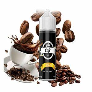 E-liquide Café 50 ml 50/50 PG/VG Vap'fusion – Sans nicotine ni tabac
