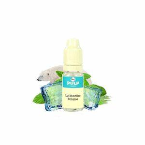 E-Liquide La Menthe Polaire 10ml – PULP – Sans tabac ni nicotine – Vente interdite au moins de 18 ans – Produit vendu à l'unité- Genre : 0 mg