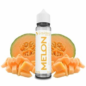 Evolution – Melon – Liquideo E-Liquid   50ML   Sans Nicotine NI TABAC   70VG/30PG   E-Liquide pour Cigarettes Electroniques   E Vaper Liquids   E Cigarette   E Shisha