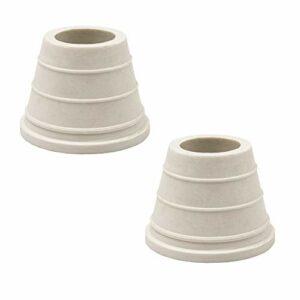K King'z® Lot de 2 joints de tête pour chicha – Joint de tête en caoutchouc – Joint en caoutchouc pour la tête – Accessoires pour narguilé – eBook inclus
