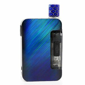 Kit Original Exceed Grip Pro 40W (Rainbow Star Trail), Kit Starter E Cig 2 ml avec 2 bobines/Mode Smart Watt/Affichage 0,69″, Batterie 1000mAh, Support RBA, Sans Nicotine