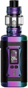 Kit SMOK Morph 2 avec réservoir 7,5 ml TFV18 Smoktech 230 W Morph 2 Mod Écran d'affichage de 0,96″Vape Device Mesh Coil E-Cigarette Vaporizer