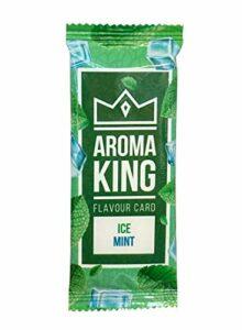 Lot de 25 cartes aromatiques pour cigarettes – 10 arômes au choix (25 x Ice Mint)