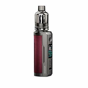 Original VOOPOO DRAG X Plus Pod Kit 5.5ml TPP Pod Cartridge TPP DM1 0.15ohm DM2 0.2ohm 100W Vape Electronic Cigarette Vaporizer Marsala Marsala