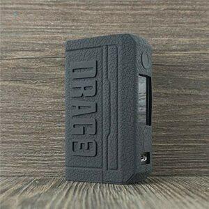 ORIN Coque Voopoo Drag 3 Coque de Protection en Silicone pour Voopoo Drag 3 Case Antislip Cover Shield Sleeve Wrap Decal Skin (Noir)