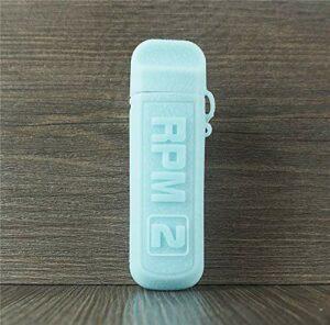 ORIN Smok RPM 2 Coque de Protection en Silicone pour Smok RPM 2 Case Antislip Cover Shield Sleeve Wrap Decal Skin (Bleu Tiffany)