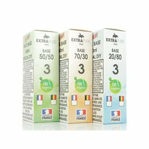 Pack Base 140ml 03mg Extrapure – 3 mg, PG/VG 70/30