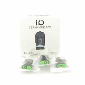 Pack de 3 pods 0,8ml 1,4ohm Ceramic IO Innokin