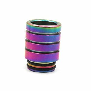 RUIYITECH Ecigs Accessoires Atomiseur 810Drip Tip Long Rainbow Embouchure 810Rainbow Drip Tip