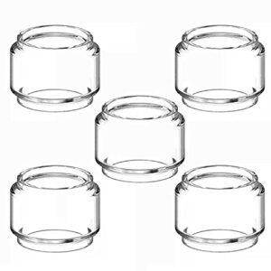 RUIYITECH Lot de 5 réservoirs en verre de rechange pour GeekVape Zeus Dual/Zeus X RTA/Creed RTA (pour Zeus Dual)