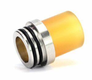 RUIYITECH PEI 510 Drip Tip avec adaptateur en acier inoxydable 810 à 510.