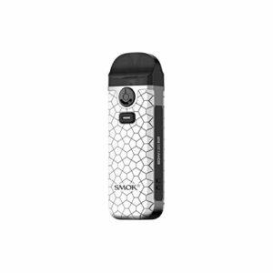 SMOK Nord 4 Pod Kit Cigarette électronique 2000mAh 4.5ml Kit de démarrage – Sans Nicotine ni Tabac (Armure blanche)
