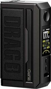 VOOPOO Drag 3 177W Box Mod 3 + 1 Modes de tirage 0,001s Allumage extrême alimenté par deux batteries externes 18650 compatibles avec l'atomiseur TPP