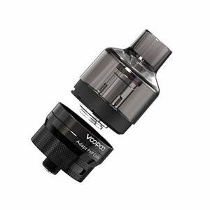 VOOPOO PnP Pod Tank |4.5ml Cartouche Base magnétique 510 Filets pour VOOPOO Argus GT Drag 2 Drag Mini Mod Vape E-Cigarette(Noir) Sans nicotine