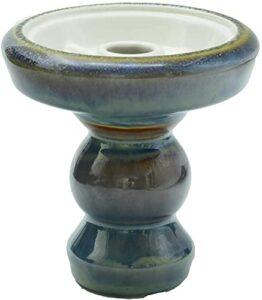 Afoosoo Bol de chicha en argile de qualité supérieure avec vernis – Travail parfait avec système de gestion de la chaleur et films