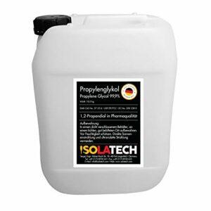 Bidon de propylène glycol de 10 l, propylène glycol 99,9 % de qualité pharmaceutique 1,2 propandioll (contenu 10 kg).
