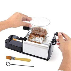 BILXXY Cigarette Automatique pour Fumeur et Usine, Machine électrique d'injecteur de Cigarette de Machine à Rouler Les Cigarettes 8MM pour Un roulement Plus Rapide