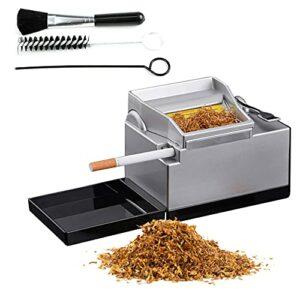 BILXXY Machine à Cigarettes électrique, Fabricant portatif de Rouleau de Tabac d'injecteur de Tube de fumée de ménage, Machine à Rouler Automatique de Cigarettes, Outils de Fabrication de Cigarettes