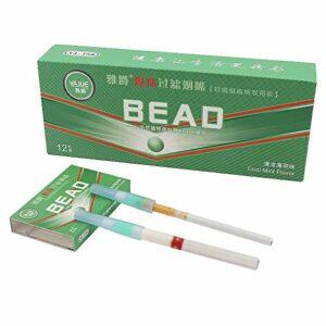 Capsules de menthol de qualité supérieure – Réduit le goudron – Facile à utiliser – Pour tous les types de cigarettes – Taille normale – 96 pièces.