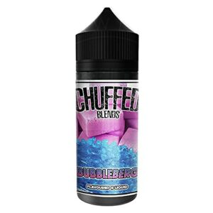 CHUFFED SHAKES – Bubbleberg 100ml Blends by Chuffed