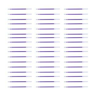 EXCEART 100 Pièces Chaleur Effaçable Tissu Marquage Stylos Mince Tige Neutre Élimination de La Chaleur Recharges Haute Température Chauffée Se Fanent Recharge Stylos (Bleu)