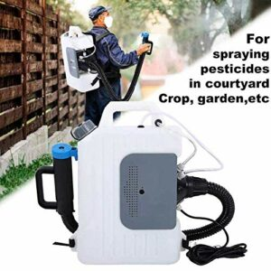 GVCTⓇ 10L Portable Fogger Sprayer, Backpack Sprayer Atomizer Machine, Atomization Distance 8-12 Meters, for Cleaning of Home School Parking
