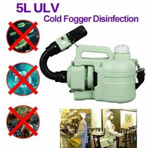 GVCTⓇ Brumisateur électrique ULV, Sac à Dos de désinfection-Machine, désinfection par Brouillard Froid, Tueur de moustiques, stérilisation de Grande Surface, pour intérieur