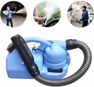 GVCTⓇ Pulvérisateur électrique ULV Fogger Atomiseur Killer Désinfection Intérieure/Extérieure, 7L, Tube 80cm