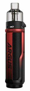 Kit VOOPOO ARGUS X 80W E-Cigarette Vape PnP Pod Cartouche 4.5ml PnP-VM6 & Pnp-VM1 Vaporisateur alimenté par batterie 18650
