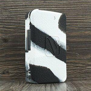ORIN Coque Vaporesso GEN Coque de Protection en Silicone pour Vaporesso GEN Case Antislip Cover Shield Sleeve Wrap Decal Skin (Noir Blanc)
