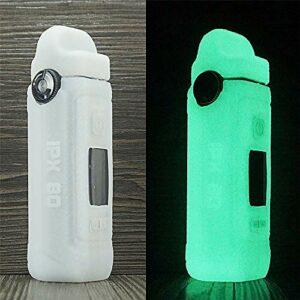 ORIN Smok IPX80 – Coque en silicone texturé pour Smok IPX80 – Coque antidérapante (brille dans le noir)