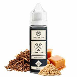 Rush Gold 50ml – Flavor hit – Sans tabac ni nicotine – Vente interdite aux personnes âgées au de moins de 18 ans – 0 MG