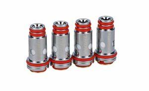 Têtes d'évaporateur à 4 batteries Uwell Whirl à bobine de 0,6 ohm – Sans tabac ni nicotine – Vente interdite au moins de 18 ans –